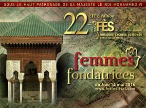 Affiche du Festival de Fes 22ème édition