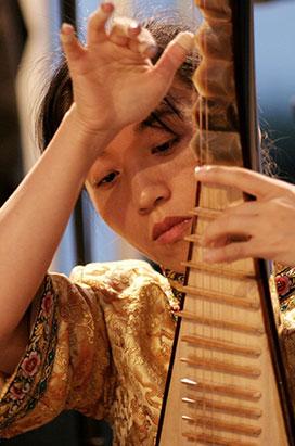 LINGLING YU – Pipa lute ‒ China