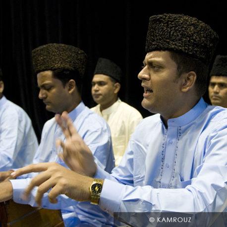 Subhan Ahmed Nizami et Qawwals Bache