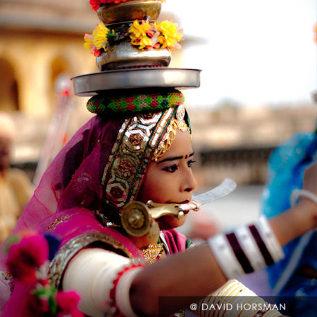 Devotional dance of Teralali  Rajasthan  India