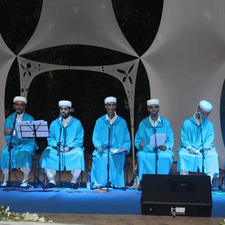 La Tariqa Rissounya : ensemble Diamant Bleu du Madih et Samae dirigé par Youssef Tazi-Chefchaouen