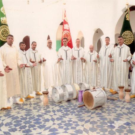 Taifat  Ahl Touat du patrimoine soufi : fils du mqadem driss Hajoui